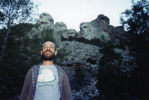 Me with Mount Rushmore