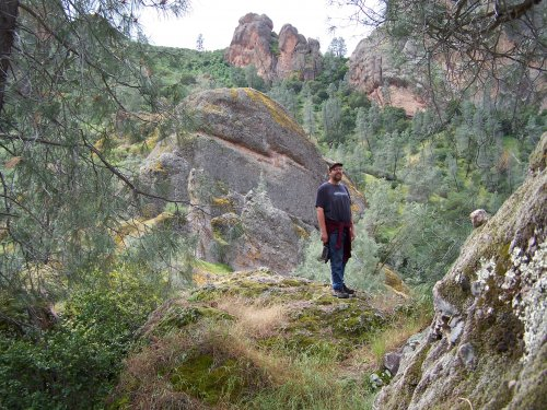 Mike at Pinnacles National Monument