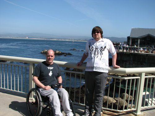 John and Jonathon at Monterey