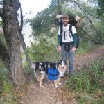 Backpacking with Shadow